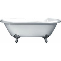 Traditional Roll Top Oval Freestanding Bath with Legs - 1700mm x 800mm - Duchy