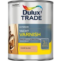 Dulux Trade Weathershield Yacht Varnish 1L