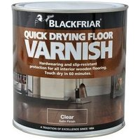 Blackfriar BF0270002D2 Duratough Floor Varnish Satin 1 Litre