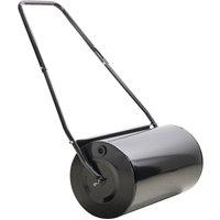 Heavy Duty Garden Lawn Roller Drum Manual Water Sand Filled 46L - Durhand