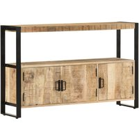 Earle Solid Mango Wood Sideboard by Williston Forge - Brown