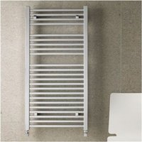 Heating - Biava Square Towel Rail 1800 x 500mm - Chrome - Eastbrook