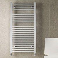 Eastbrook Heating - Biava Square Towel Rail 1800 x 600mm - Chrome