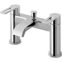 Hooper Bath Shower Mixer With Kit - Chrome - Eastbrook