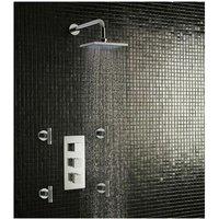 Eastbrook - Kubix Twin Concealed Thermostatic Shower Valve - Chrome