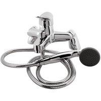 Prado 300 Bath Shower Mixer With Kit - Chrome - Eastbrook