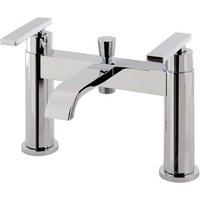 Prado 550 Bath Shower Mixer With Kit - Chrome - Eastbrook