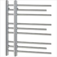 Eastbrook Rubin Steel Chrome Designer Heated Towel Rail 600mm x 600mm Central Heating