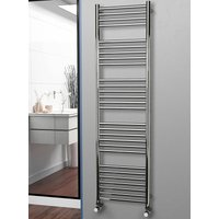 Eastgate 304 Straight Polished Stainless Steel Heated Towel Rail 1800mm x 500mm - Electric Only - Standard - 3169BTUs
