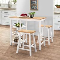 Eastlake Dining Set with 2 Chairs by White - Classicliving