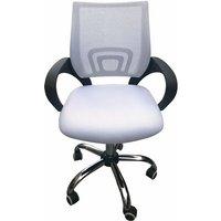 Eastner Mesh Back Office Chair White