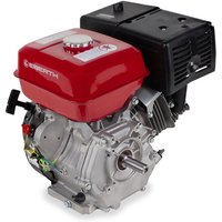 13 HP 9.56 kW Petrol Engine (25 mm Shaft, Low Oil Protection, Air-cooled Singel Cylinder 4-stroke Engine, Recoil Start) - EBERTH