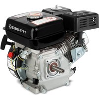 6.5 HP 4.8 kW Petrol Engine (20 mm Shaft, Low Oil Protection, Air-cooled Singel Cylinder 4-stroke Engine, Recoil Start) Motor - EBERTH