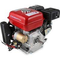 6.5 HP 4.8 kW Petrol Engine (E-Start, 20 mm Shaft, Low Oil Protection, Air-cooled Singel Cylinder 4-stroke Engine, Recoil Start, Alternator, Battery)