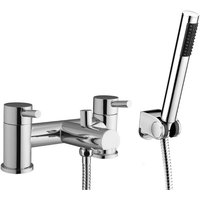 Wentworth Bathrooms - Echo Chrome Bath Shower Mixer and Shower Kit
