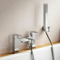 Neshome - Eclipse Modern Bath Shower Mixer Tap and Hand Held
