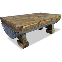 Effie Coffee Table with Storage by Brown - Union Rustic