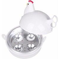 Egg Boiler Electric Egg Boiler Chicken Shape Microwave 4 Egg Boiler Steamer Boiler Cooker Kitchen Tools