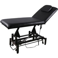 Electric Lift SPA Beauty Couch Massage Bed, Black