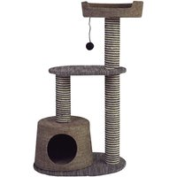 Elegant model with dog bed and ball game pendant for cats - FERRIBIELLA