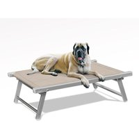 Beach And Garden Design - Elevated Pet Bed for Dogs and Cats DOGGY | Cream