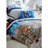 Elf Workshop King Size Duvet Cover Set Christmas Bedding Bed Set Linen - BEDMAKER