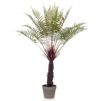 Artificial Dicksonia Tree Fern in Pot 80 cm - Emerald
