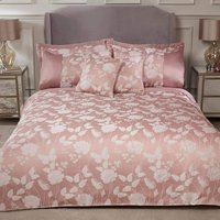 S.green - Emma Barclay Butterfly Meadow Duvet King Bed, 100% Polyester, Blush Pink