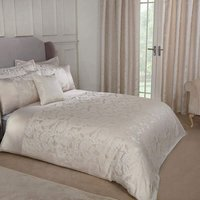 Emma Barclay Duchess Duvet King Bed Cream, 100% Polyester