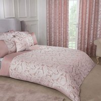 Emma Barclay Duchess Duvet Super King Bed, 100% Polyester, Blush Pink