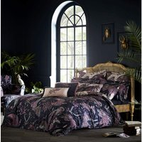 Emma J Shipley Aububon Navy King Size Duvet Cover Reversible Bedding - CLARKE and CLARKE