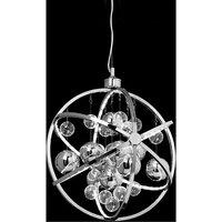 Muni pendant warm white light chrome plate - ENDON