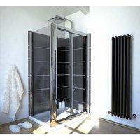 800 X 800 Bi Fold Glass Shower Screen Enclosure - Ergonomic Designs