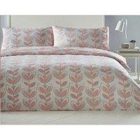 Escada Coral Tulip Super King Size Duvet Cover Bedding Bed Set Reversible