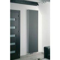 Atlas single Reverse Panel Vertical Designer Radiator White 1800mm X 410mm - Eucotherm