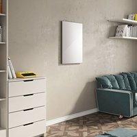 Glass Infrared White Radiator 600mm X 900mm - 600 Watts - Eucotherm