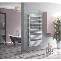 Eucotherm Magnus Designer Towel Rail White 1278mm X 632mm