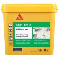 Fastfix Charcoal 15kg Paving Jointing Compound All Weather - Everbuild