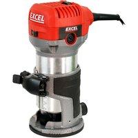 710W Electric Wood Hand Trimmer/Router 240V:240V - Excel