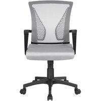 Desk Chair Adjustable Executive Computer Office Chair - Gray