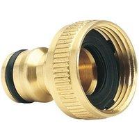 Draper 36198 Expert Brass 3/4 BSP Garden Hose Tap Connector