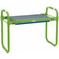 Folding Metal Framed Gardening Seat or Kneeler - DRAPER