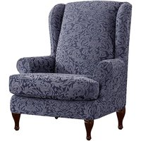 Extendable Wing Armchair Chair Cover Protector Furniture Cover A - Mohoo