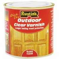 Exterior Varnish Clear Gloss 2,5 Litre (RUSEVG25L)
