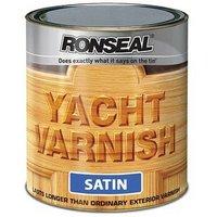 34909 Exterior Yacht Varnish Satin 2.5 Litre - Ronseal
