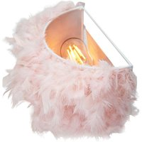 Eye-Catching and Contemporary Real Pink Feather Decorated Fl