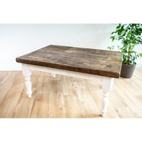Farmhouse Coffee Table 70 cm