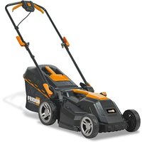 Electric Roller Mower- 1600W / 230V 38cm Push Rotary Rear Roller Lawnmower - New 2020 Model -FTDE1600R - Feider