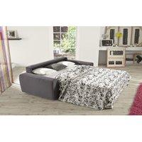 Fellini 2 Seater Italian Fabric Sofa Bed Grey