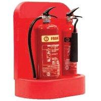 Plastic Extinguisher Stand Raised - Double - Moyne Roberts